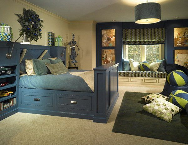 blue bedroom design 51