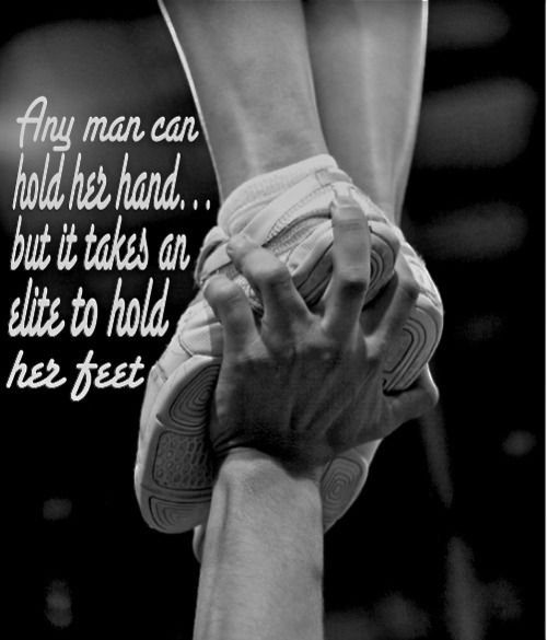 This would be cute on a male cheerleader's shirt. :)