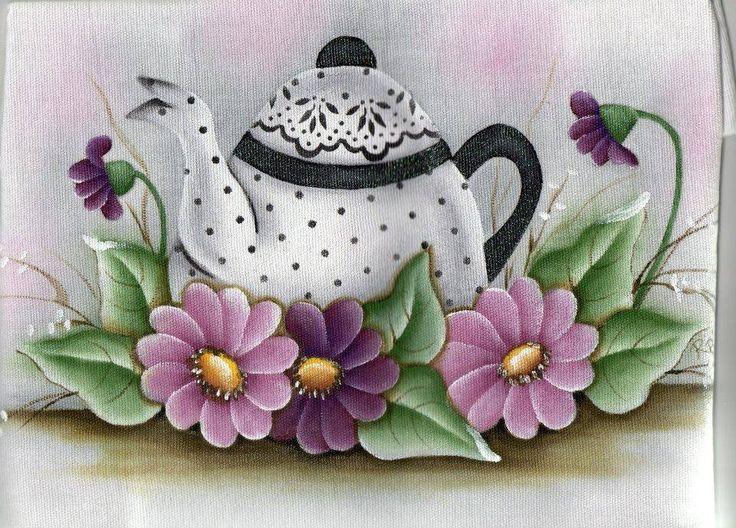 Pintura em tecido pano de prato pintura em tecido - Decorarte pinturas ...