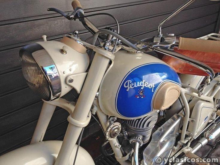 Motocicleta Peugeot 125 cc 55TC - Portal compra venta vehículos clásicos