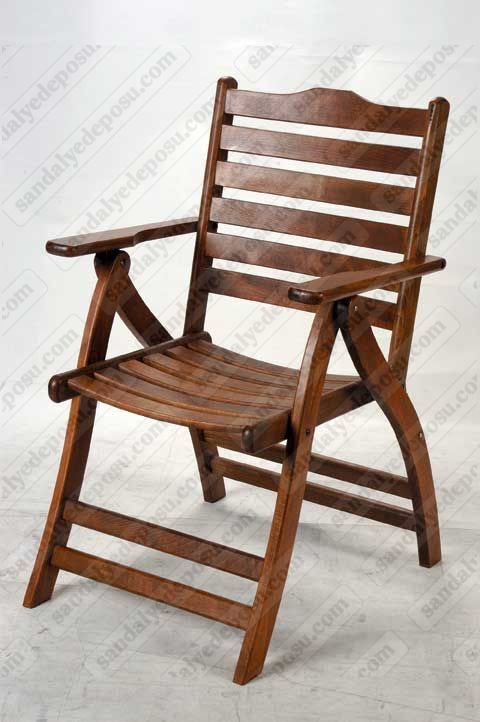 Marina katlanır ahşap sandalye