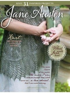 Jane Austen Knits special issue with 31 knitting patterns | InterweaveStore.com