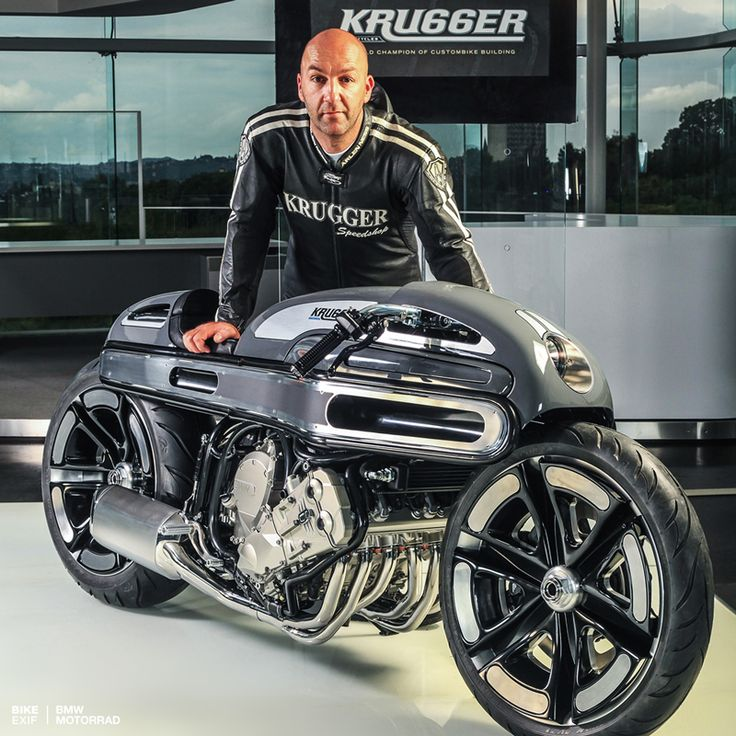 Master builder Fred Krugger is back, and look at what he's just created for BMW Motorrad France—an incredible rework of the K1600 tourer.