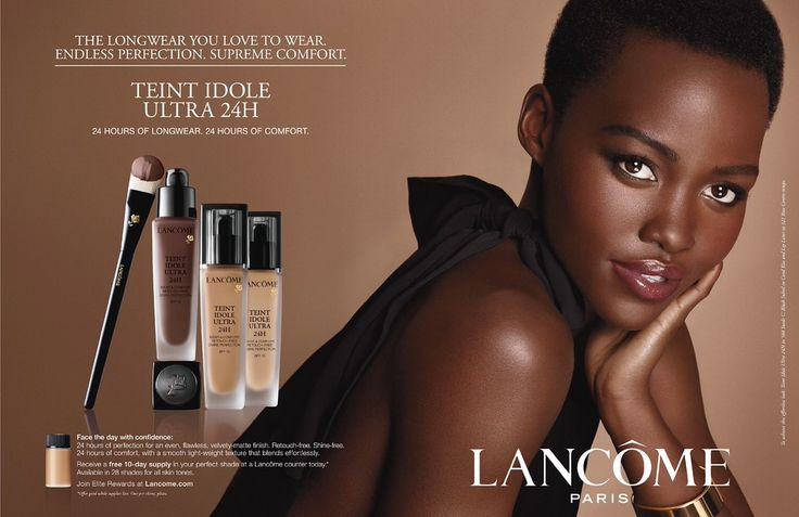 Lancome Paris Cosmetics Advertising