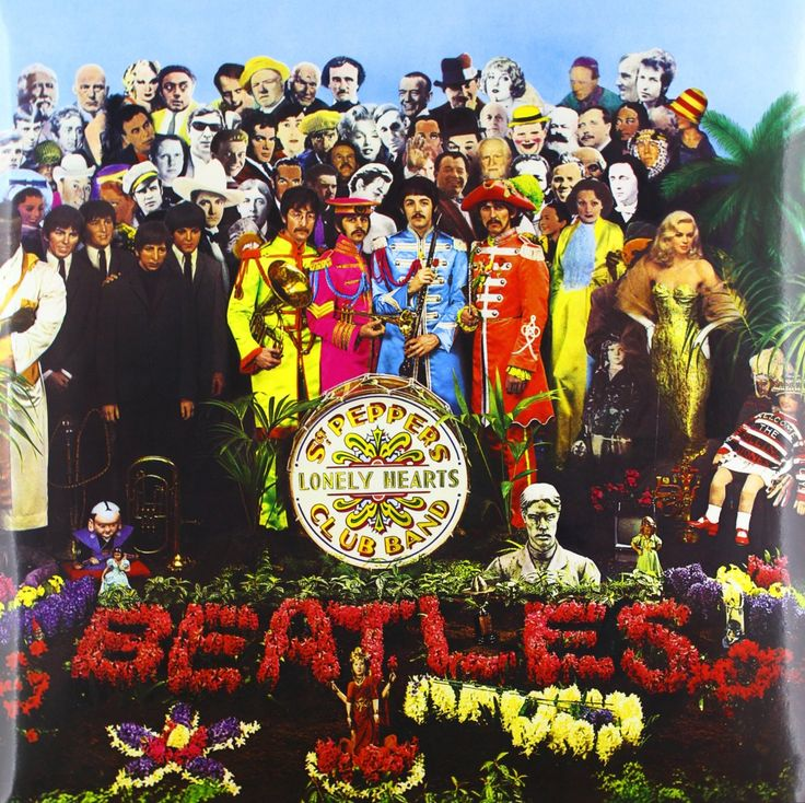 Beatles - Sgt Pepper's Lonely Hearts Club Band Vinyl Record [180g]