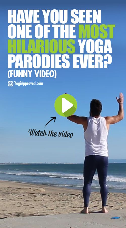 Have You Seen One of the Most Hilarious Yoga Parodies Ever? (Funny Video)