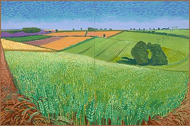 DAVID HOCKNEY: LA LOUVER - The East Yorkshire Landscape