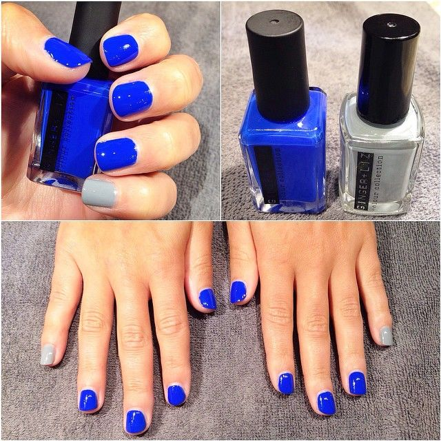 blue and grey this #manimonday