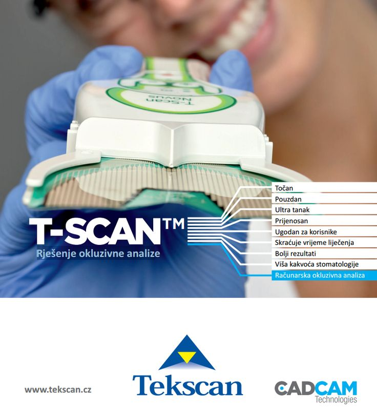 T-Scan NOVUS - Rješenje okluzivne analize | stomatologija