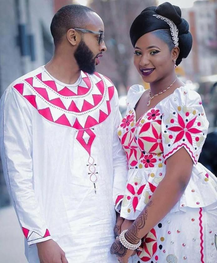 african couple, wedding, african wear, african traditional wedding