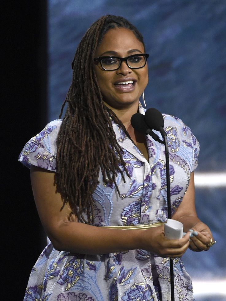 Ava DuVernay accepts the John Schlesinger award for excellence in directing at the BAFTA Los Angeles Britannia Awards on Friday, in Beverly Hills, Calif.  Chris Pizzello, Chris Pizzello/Invision/AP