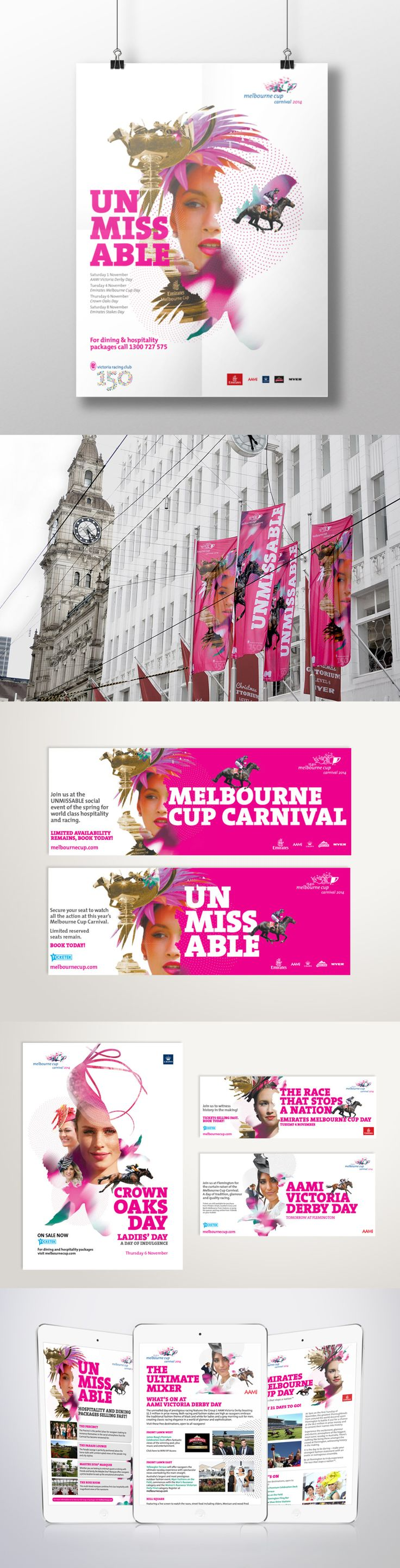 Melbourne Cup Carnival Creative – Advertising Associates