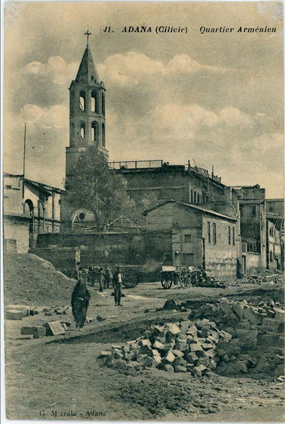 ADANA.. Yakılan Ermeni mahalesi