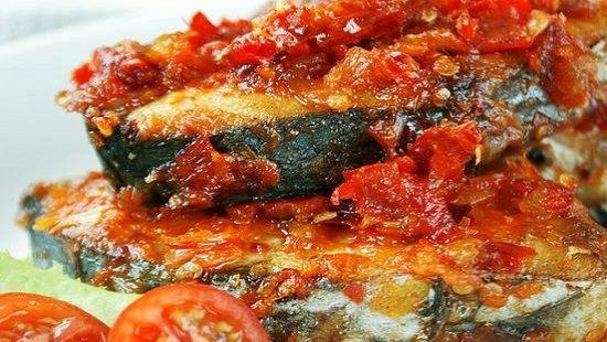 Tenggiri Balado Pedas Resep Ikan Resep Masakan Makanan