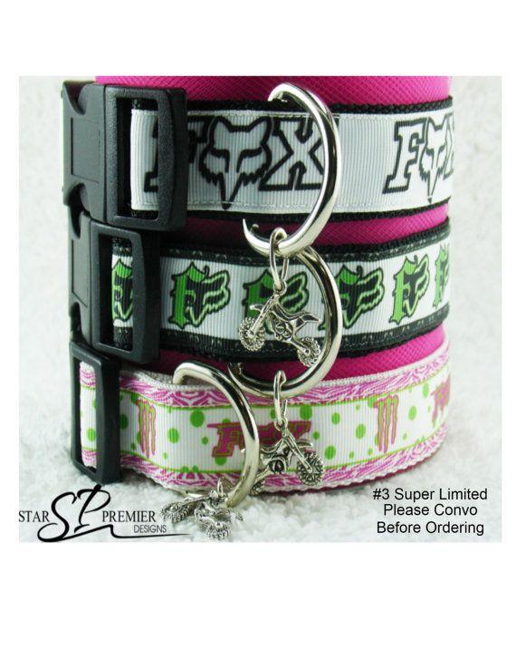Star's Racing Motocross Custom Dog Collars / Jewelry Inspired on Etsy, $17.00