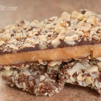 Auntie's Buttery English Toffee Recipe..Graccey and I made these tonight and they are INCREDIBLE!!! A def keeper!