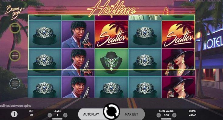 Слот Hotline в казино Вулкан