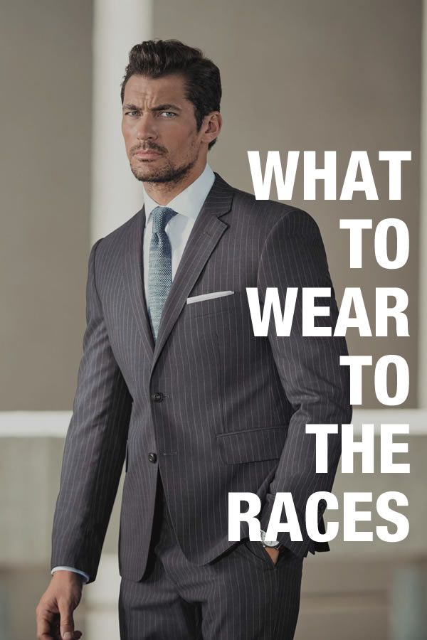 ad82fa6b8e78 What To Wear To The Races - A Men s Style Guide On Horse Racing Attire