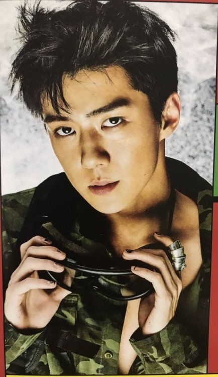 Sehun - 170906 'The War: The Power of Music' album contents photo  Credit: destinee0412.