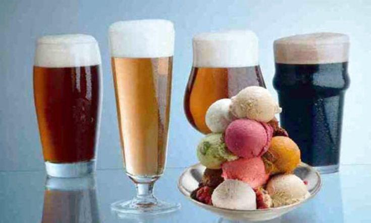 GELATO ALLA BIRRA La versione più dolce e analcolica  della classica birra