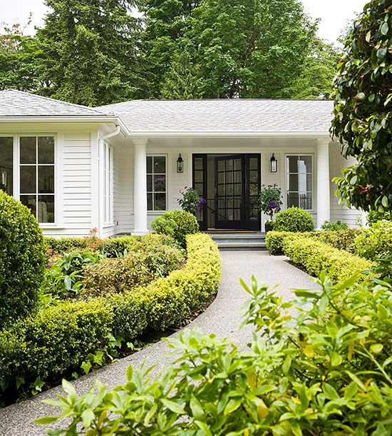 Steer your home's curb appeal in a more attractive direction with our best curb-boasting ideas.