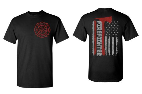 Maltese Cross Flag Shirt Fireman Shirt Firefighter Shirt Firefighter Gift For Him FireFighter Wife Shirt Firefighter Girlfriend Tshirt 5000
