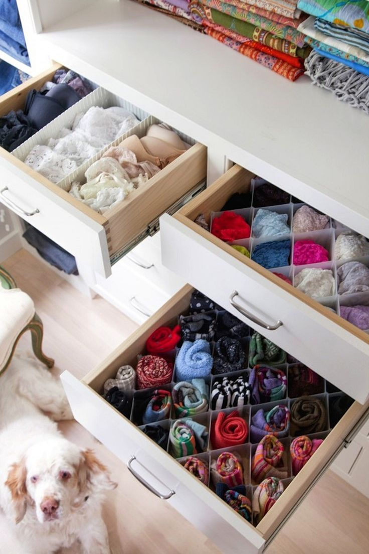 Check out these easy and pretty storage hacks and organisation ideas so you can sort through your clothes without getting rid of any.