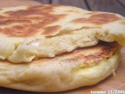 Image Papilles et Pupilles - Cheese naans