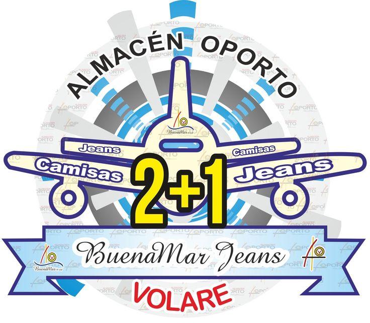 Cometas y descuentos, promoción 2 más 1 #BuenaMarJeans en #Cartago
