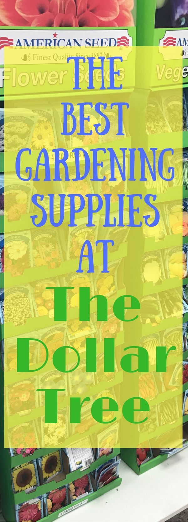 No need to spend a lot of money on gardening supplies! Use these tips to help find the best supplies at The Dollar Tree for your garden project!