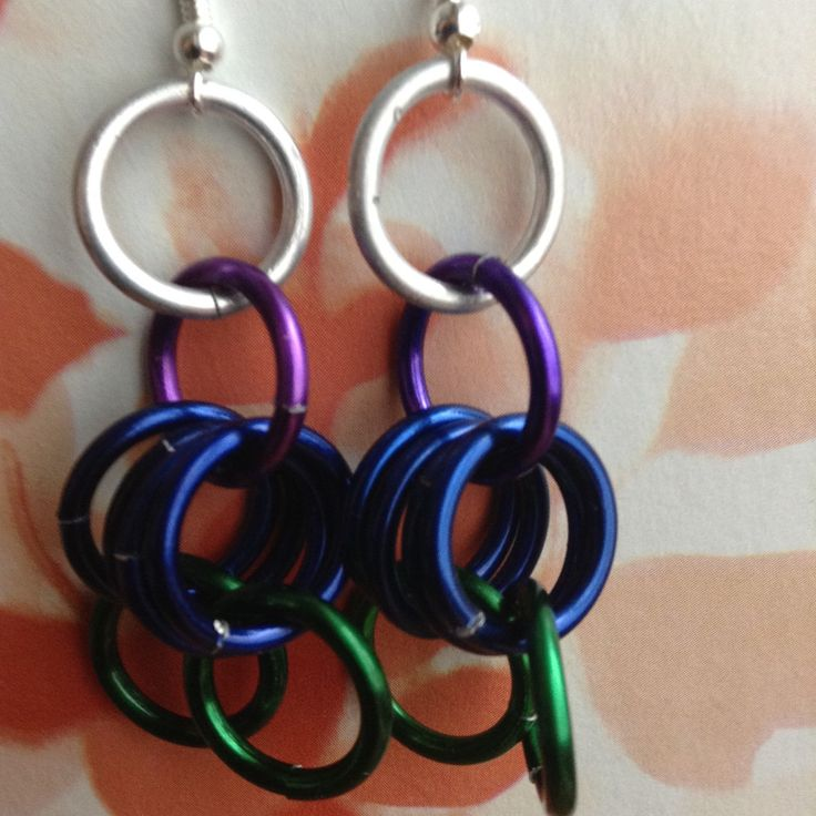 Get your crazy on! These are the party earrings! Kids love the soft jingle to them and the colors!