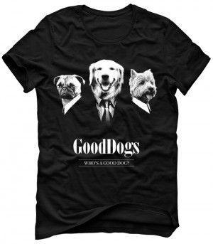 GOOD DOGS Parodia Koszulka Tshirt Bluza Męska Damska