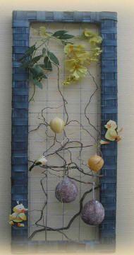 creatief fietsbanden tuindecoratie maken knutselen hobby kader versieren tuin pasen valentijn kerst