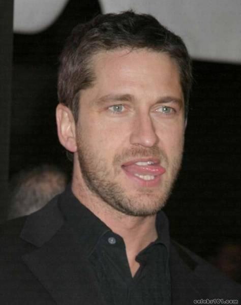 Gerard Butler.  The right guy with the right facial expression.