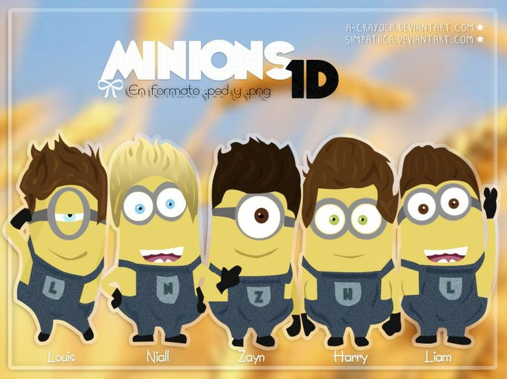 Minions >> Is it bad I can tell exactly which one each one is??