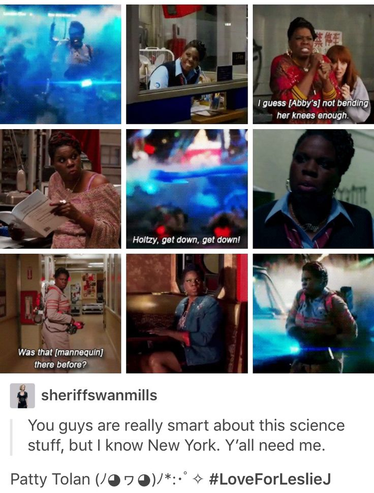 Ghostbusters -- Patty is my secret fave