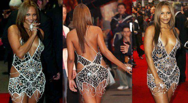 Diamond Dress by Scott Henshall,Este vestido é muito claro, e incrustado com diamantes, estes que somam mais de 3.000. O vestido tem valor de US$ 9 milhões e a peça foi usada pela cantora Samantha Mumbai, no ano 2004, na estréia do filme Spider-Man.