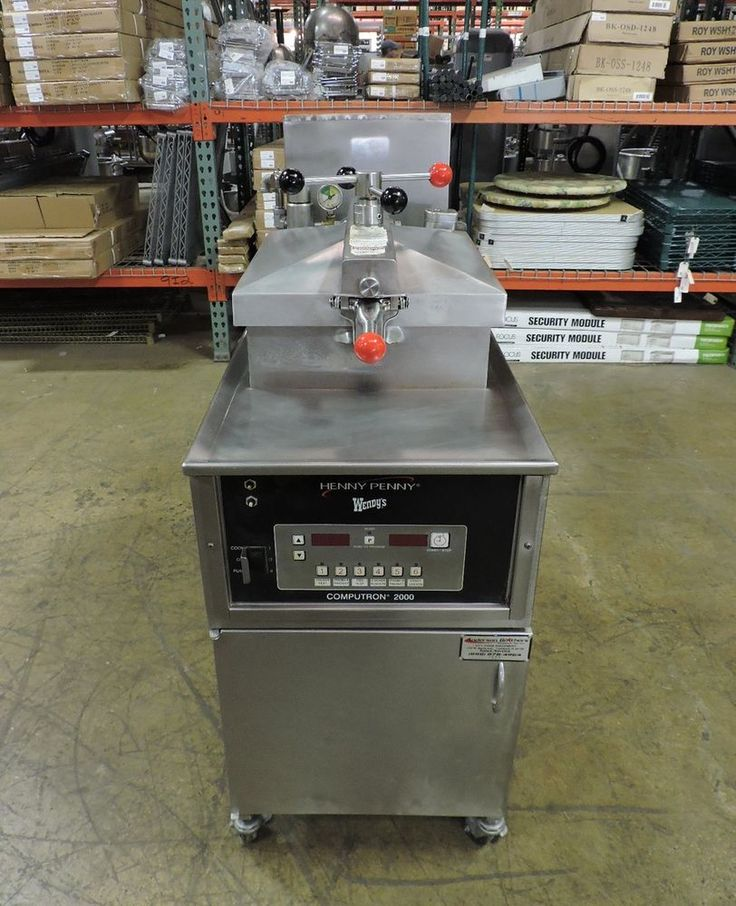 Henny Penny 500RB (PFE-500) Commercial Electric Pressure Fryer #HennyPenny