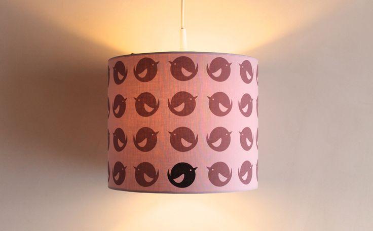 Lampenschirm mit einzigartigem pusling Stoff  von pusling - Bessere Sachen für Kinder auf DaWanda.com