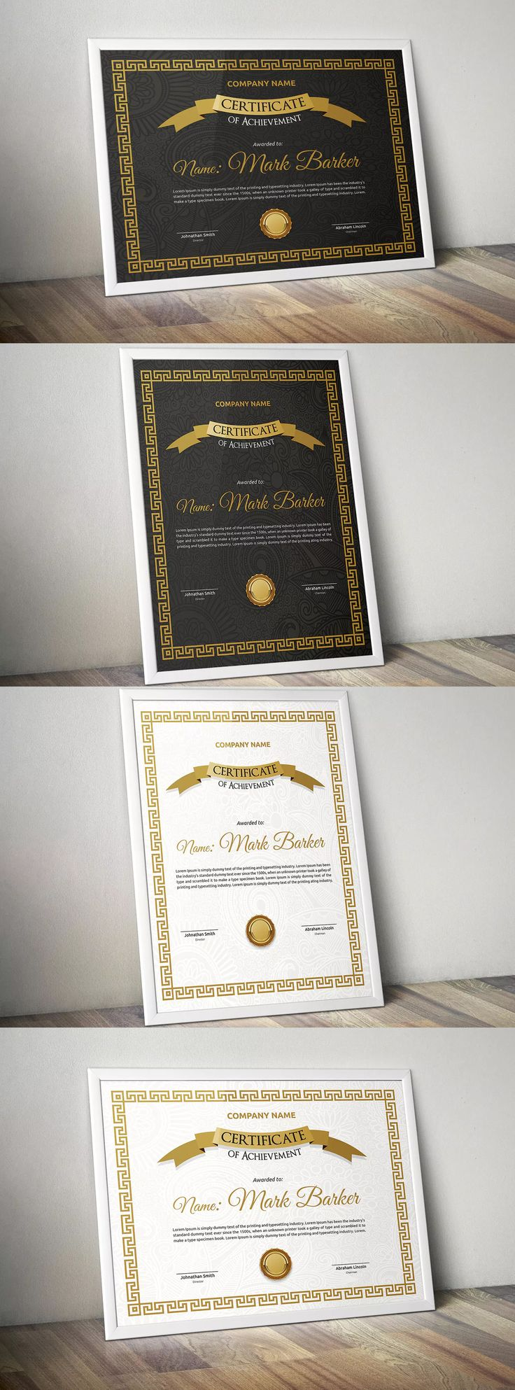 53 best certificate templates images on pinterest certificate template eps yadclub Gallery
