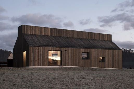 Between a 16th century church and a wooden barn: the Chimney House by dekleva gregorič architects | News | Archinect