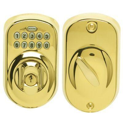 Schlage Keypad Deadbolt - just bought one for the front door, no more keys, stores up to 19 entry codes!