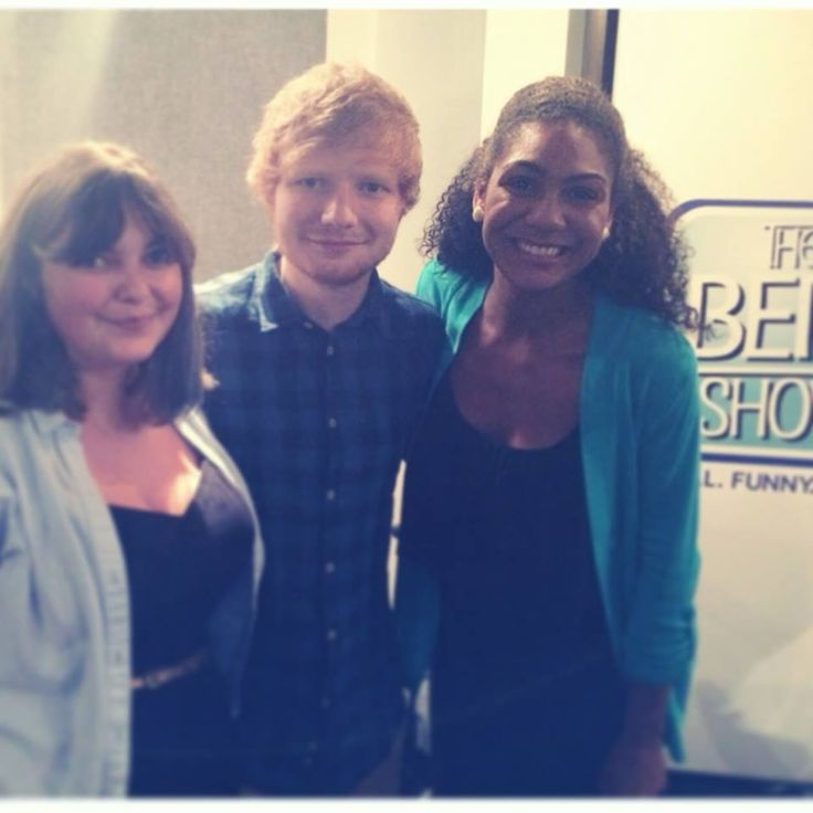 I first visited a radio station when I was in high school, and that was when I decided to major in journalism in college. I interned with the Atlanta-based radio station Q100 during the summer of 2014. (That's where I met Ed Sheeran!) My dream job has always been to be a radio personality, and now I'm also considering aiming for positions in programming and production. You can hear me embarrass myself while competing for some Beyonce concert tickets here: http://thebertshow.com/beyonce/