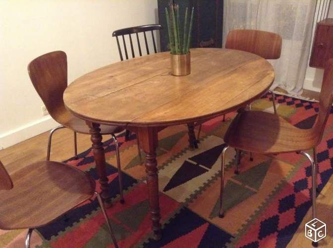 Table gain de place pour notre salle à manger  Table à manger