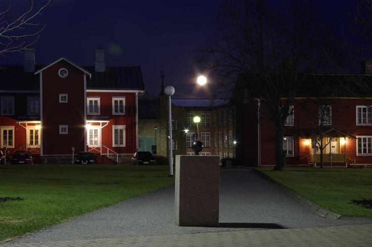 """University of Vaasa by Night 1"", photographer: Mika Ruohonen"