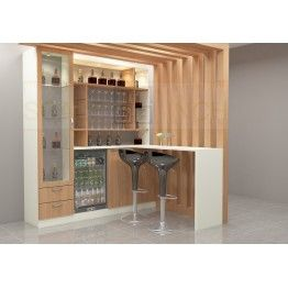 This is extra ordinary. Made up of plywood with laminate finish. Extensive and wide bar cabinet gives an opulent look to the entire space. The stroage is vast enough for fitting in essentials in an organized manner. Get a mini bar customized at home with Scale Inch. Feel the presence with this bar unit and enjoy the spending time with your loved ones.