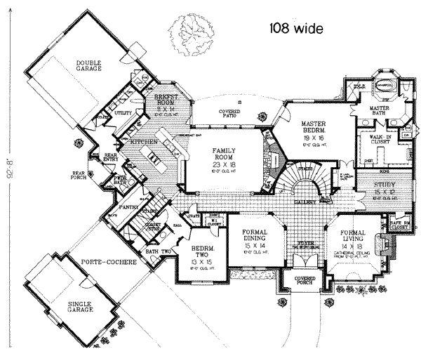 147 Best House Plans Images On Pinterest Home Plans