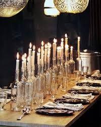 leuke manier van de tafel dekken @ eettafel
