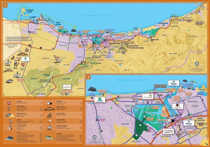 Dubai to Ras Al Khaimah, Directions to Ras Al Khaimah, Ras al Khaimah Map: Rasalkhaimahtourism.com