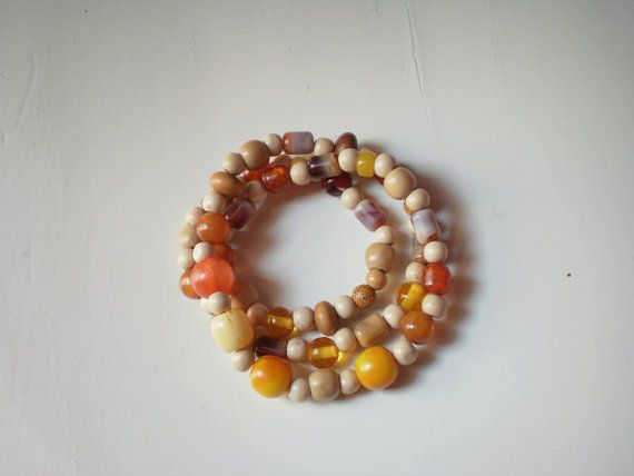 earth necklace Free combined shipping by KaterinakiJewelry on Etsy, $10.00
